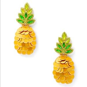 New Kate Spade by the pool 🍍 statement studs